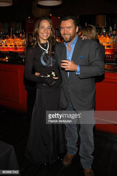 Marcia Mishaan and Arthur Altschul Jr. At DOUGLAS HANNANT After Show Dinner Hosted by Valesca Guerrand-Hermes at PM Niteclub on February 10, 2006 in...