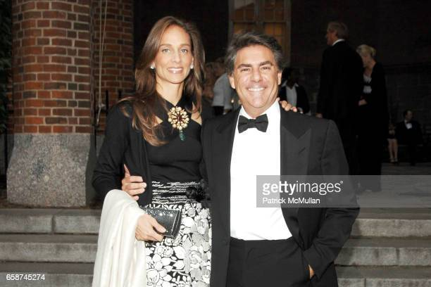 Marcia Mishaan and Richard Mishaan attend the Wildlife Conservation Society's Central Park Zoo '09 Gala at the Central Park Zoo on June 10 2009 in...