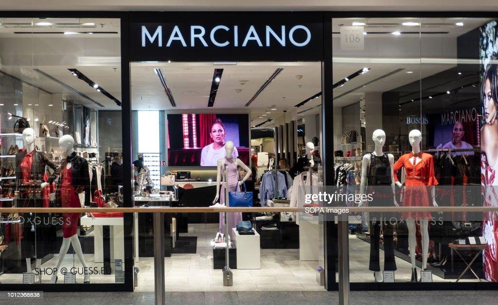 f5e6b1d1c889 Marciano store in Galeria Krakowska...   News Photo