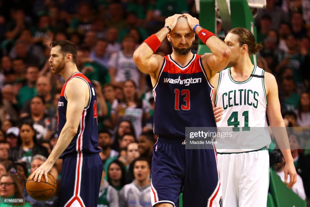 Washington Wizards v Boston Celtics - Game Two