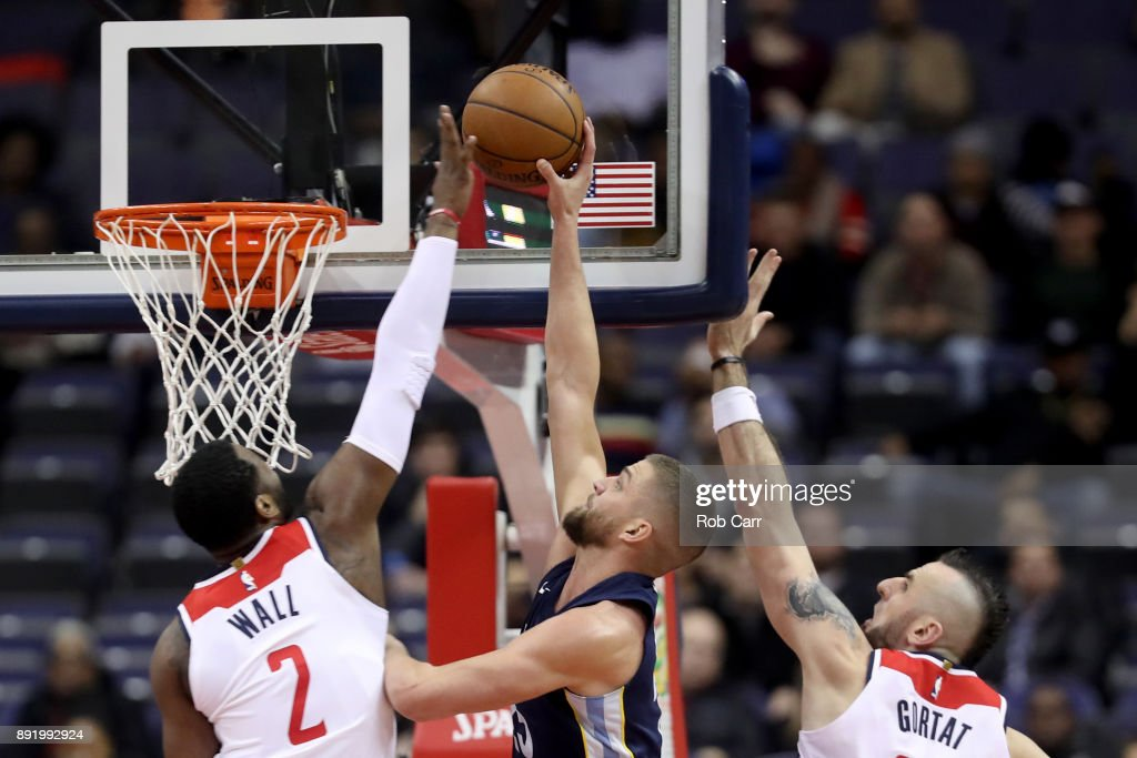 Memphis Grizzlies v Washington Wizards