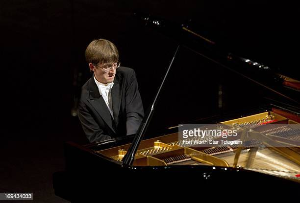 Marcin Koziak of Poland performs in the preliminary round of the 14th Van Cliburn International Piano Competition at the Bass Performance Hall in...