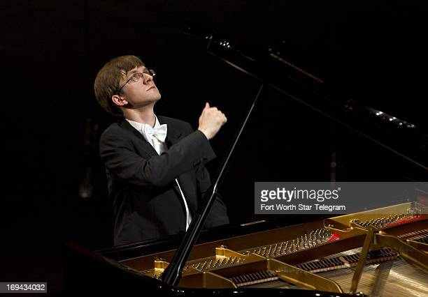Marcin Koziak Poland performs in the preliminary round of the 14th Van Cliburn International Piano Competition at the Bass Performance Hall in Fort...