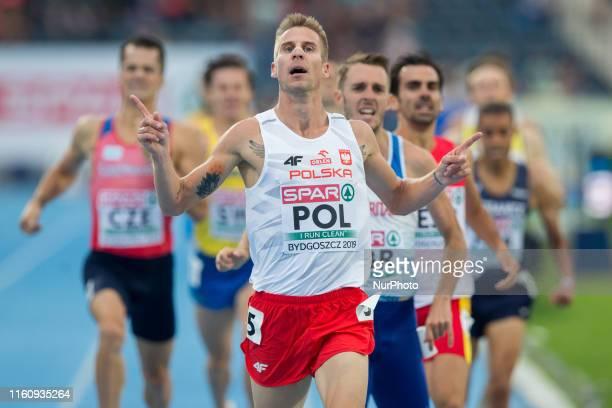 Marcin Lewandowski during the European Athletics Team Championships Super League Bydgoszcz 2019 - Day Two at Zawisza Stadium on August 10, 2019 in...