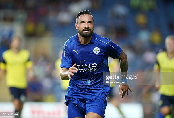 Marcin Wasilewski of Leicester City during the pre season friendly between Oxford United and Leicester City at Kassam Stadium on July 19 2016 in...