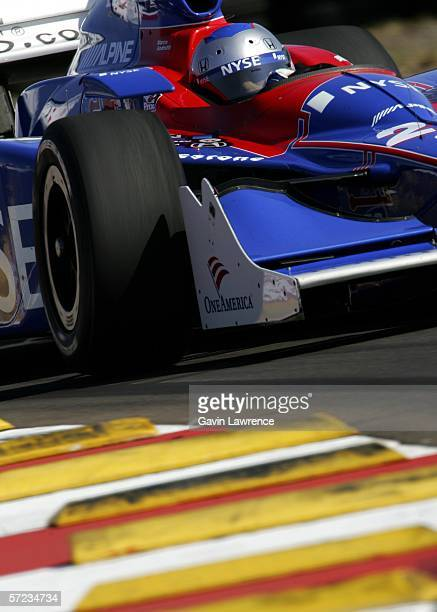 Marco Andretti driver of the ArcaEx Andretti Green Racing Dallara Honda during the IRL Indycar Series Honda Grand Prix of StPetersburg on April 2...