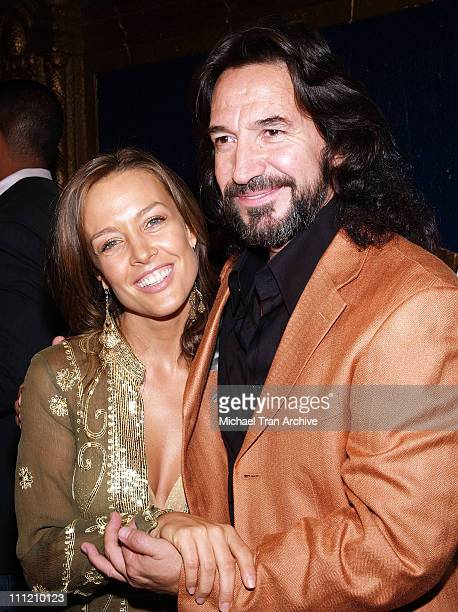 Marco Antonio Solis and Fey during 6th Annual Latin GRAMMY Awards Nominations at The Music Box @ Fonda in Hollywood, California, United States.