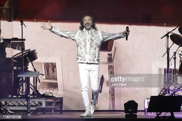 Marco Antonio Solis performs at American Airlines Arena on October 26, 2019 in Miami, Florida.