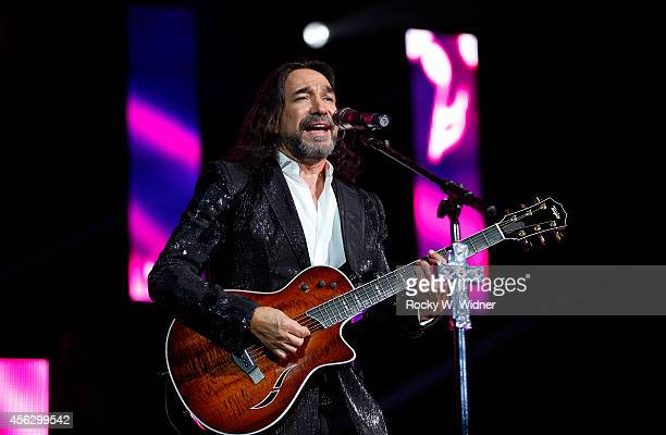 Marco Antonio Solis performs in concert at the SAP Center on September 20, 2014 in San Jose, California.