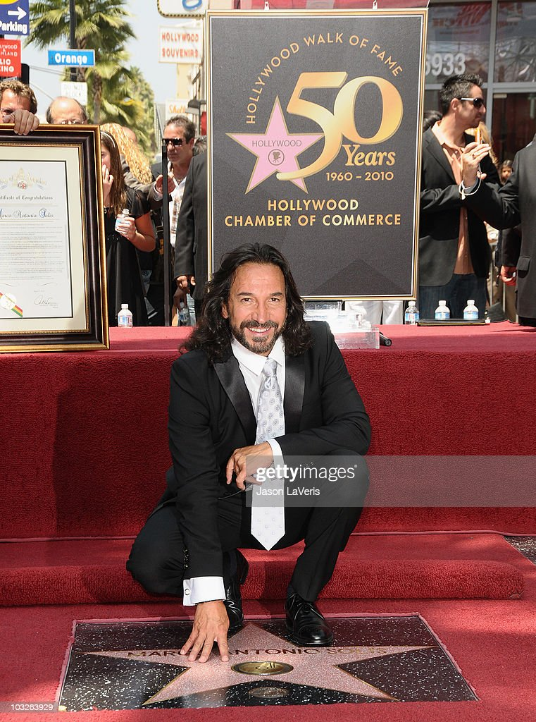 Musician Marco Antonio Solis Receives Star On Hollywood Walk Of Fame ...