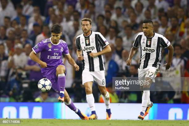 Marco Asensio of Real Madrid during the UEFA Champions League Final between Juventus and Real Madrid at National Stadium of Wales on June 3 2017 in...