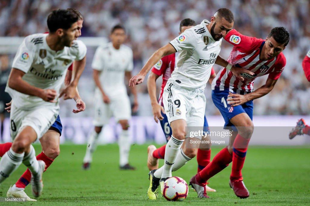 Real Madrid v Atletico Madrid - La Liga Santander : News Photo