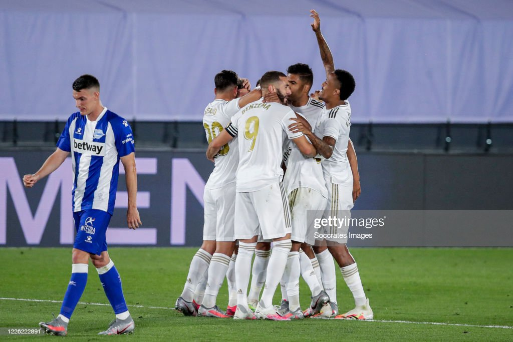 Real Madrid v Deportivo Alaves - La Liga Santander : News Photo