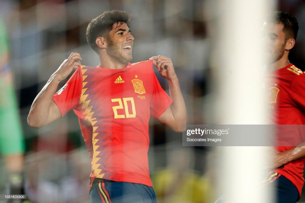 Spain  v Croatia  -UEFA Nations league : ニュース写真