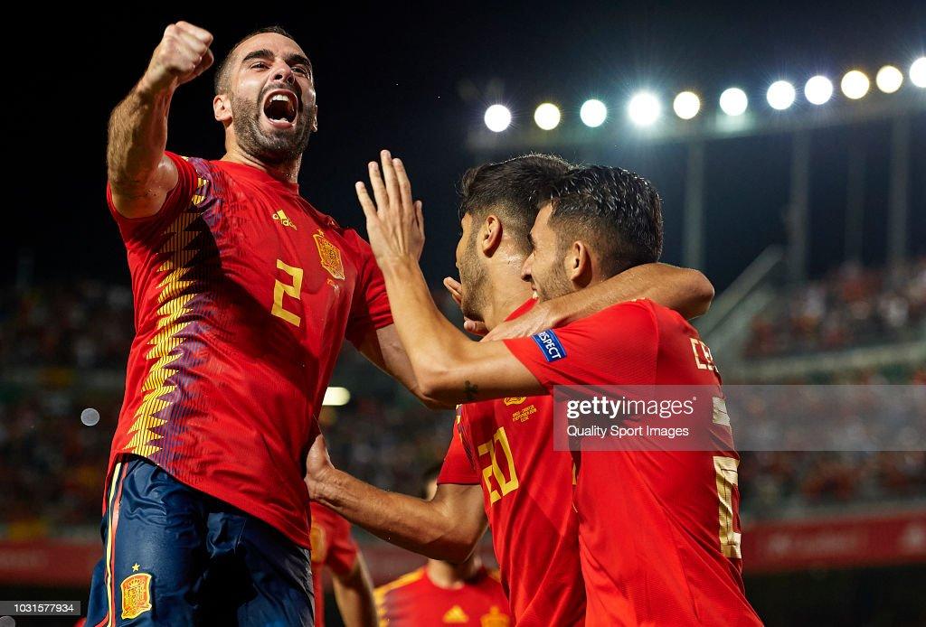 Spain v Croatia - UEFA Nations League A