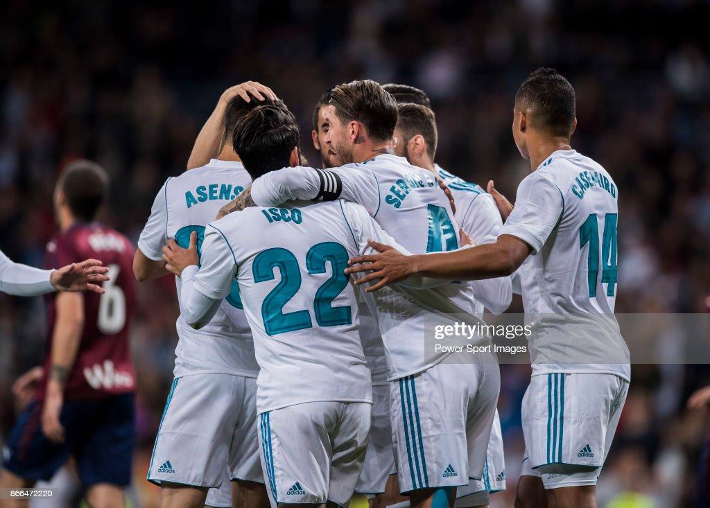 La Liga 2017-18 - Real Madrid vs SD Eibar Pictures | Getty Images