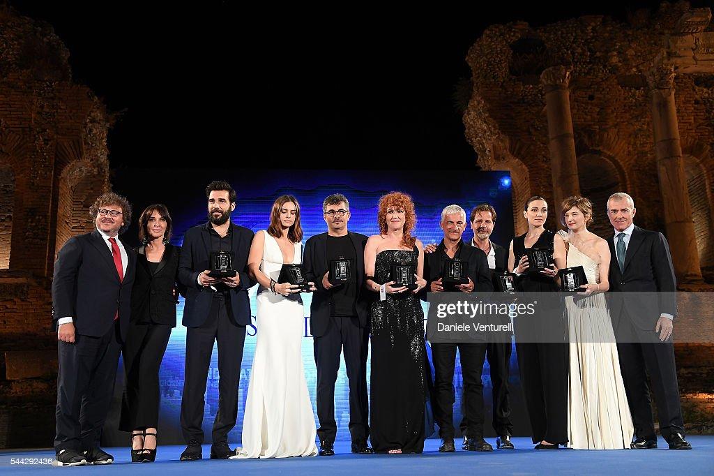 Nastri D'Argento 2016 - Awards Ceremony : News Photo