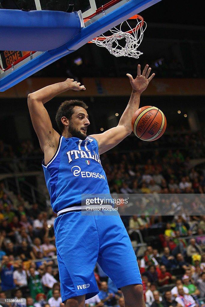 Latvia v Italy - EuroBasket 2011