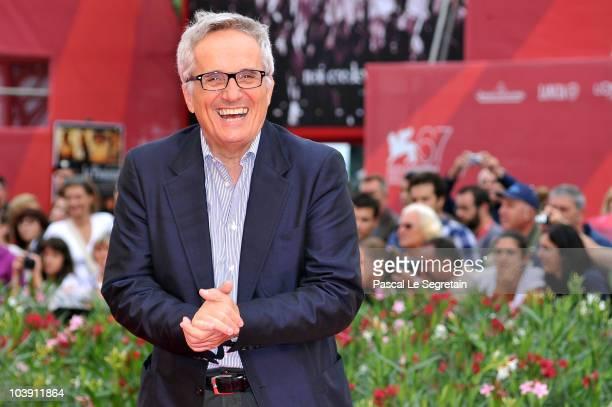 Marco Bellocchio attends the 'Sorelle Mai' Premiere during the 67th Venice Film Festival at the Sala Grande Palazzo Del Cinema on September 8 2010 in...