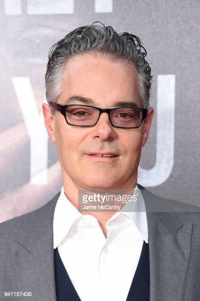 Marco Beltrami attends the premiere for 'A Quiet Place' at AMC Lincoln Square Theater on April 2 2018 in New York City