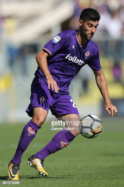 Marco Benassi of ACF Fiorentina in action during the Serie A match between ACF Fiorentina and Udinese Calcio at Stadio Artemio Franchi on October 15...
