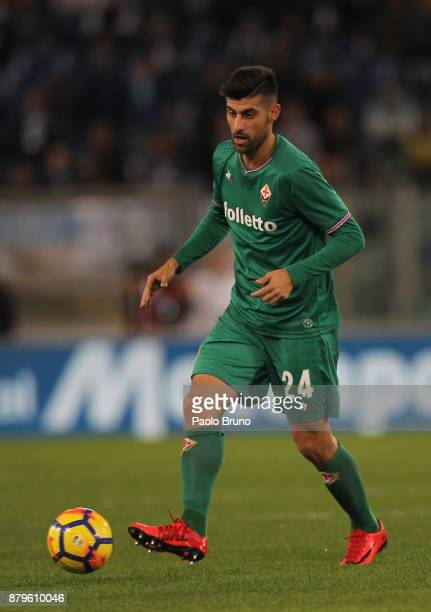 Marco Benassi of ACF Fiorentina in action during the Serie A match between SS Lazio and ACF Fiorentina at Stadio Olimpico on November 26 2017 in Rome...