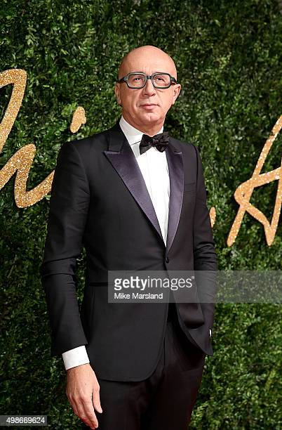 Marco Bizzari attends the British Fashion Awards 2015 at London Coliseum on November 23 2015 in London England
