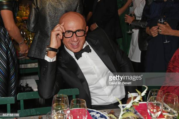 Marco Bizzarri attends a private dinner hosted by Livia Firth following the Green Carpet Fashion Awards Italia at Palazzo Marino on September 24 2017...