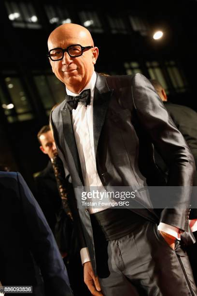 Marco Bizzarri attends The Fashion Awards 2017 in partnership with Swarovski at Royal Albert Hall on December 4 2017 in London England