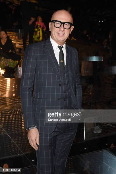Marco Bizzarri attends the Gucci show during Milan Fashion Week Autumn/Winter 2019/20 on February 20, 2019 in Milan, Italy.