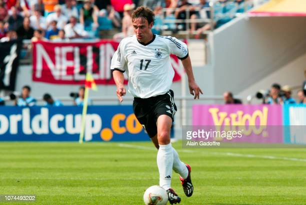 Marco BODE during the FIFA World Cup match between Germany and Paraguay on June 15 2002 in Jeju Stadium South Korea