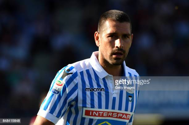 Marco Boriello of Spal during the Serie A match between Spal and Cagliari Calcio at Stadio Paolo Mazza on September 17 2017 in Ferrara Italy