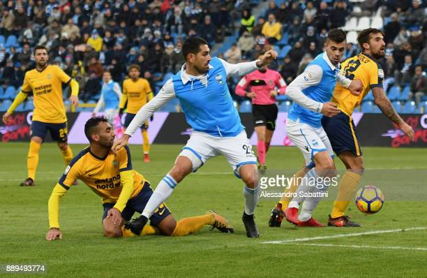 Marco Boriello of Spal in action during the Serie A match between Spal and Hellas Verona FC at Stadio Paolo Mazza on December 10 2017 in Ferrara Italy