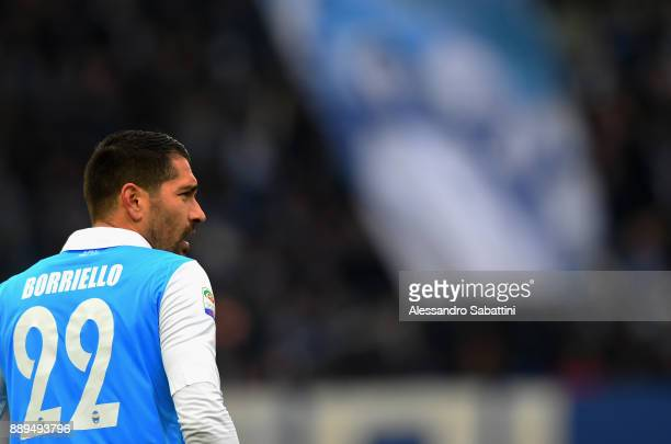 Marco Boriello of Spal looks on during the Serie A match between Spal and Hellas Verona FC at Stadio Paolo Mazza on December 10 2017 in Ferrara Italy