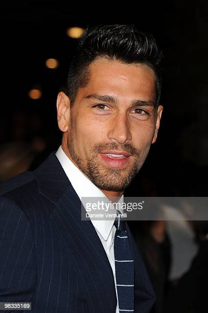 Marco Borriello attends the 'Champions For Children' And Clarence Seedorf Hold First Annual Gala held at Castello Sforzesco on April 8 2010 in Milan...