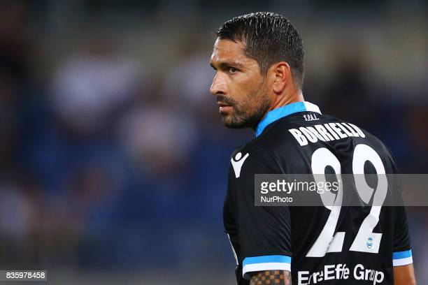 Marco Borriello of Spal at Olimpico Stadium in Rome Italy on August 20 2017