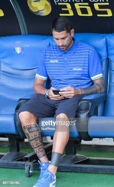 Marco Borriello of Spal during the Italian Serie A football match SS Lazio vs Spal at the Olympic Stadium in Rome august on 20 2017