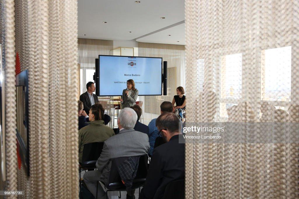 Terrazza Martini Milano Grand Opening - Press Conference Photos and ...