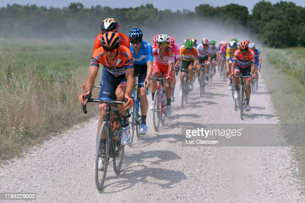 Marco Canola of Italy and Nippo-Vini Fantini-Faizane / Jurgen Roelandts of Belgium and Movistar Team / Manuel Belletti of Italy and Team Androni...
