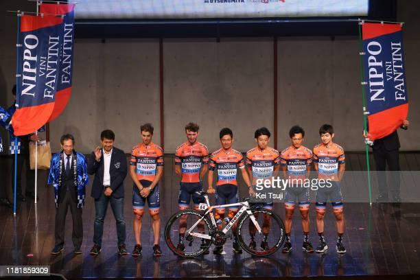 Marco Canola of Italy and Team Nippo Vini Fantini - Faizane'/ Masahiro Ishigami of Japan and Team Nippo Vini Fantini - Faizane'/ Sho Hatsuyama of...
