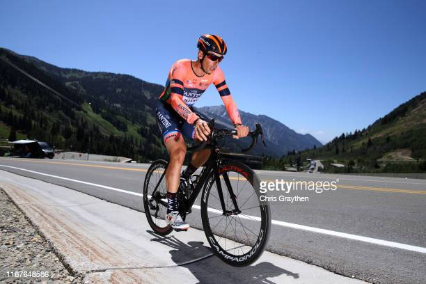 Marco Canola of Italy and Team NippoVini FantiniFaizane / during the 15th Larry H Miller Tour of Utah 2019 Prologue a 53km Individual Time Trial from...