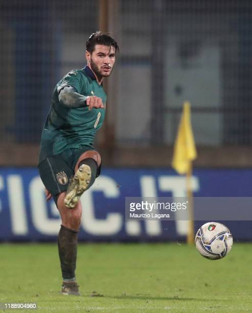 Marco Carraro of Italy during the UEFA U21 European Championship Qualifier match between Italy and Armenia at Stadio Angelo Massimino on November 19...