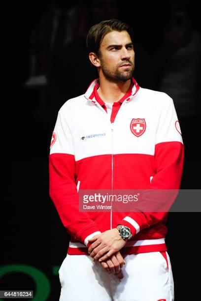 Marco CHIUDINELLI - - France / Suisse - Finale Coupe Davis -, Photo : Dave Winter / Icon Sport