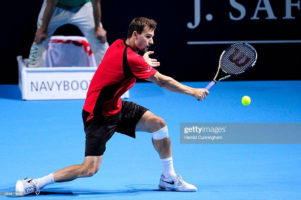 ATP Swiss Indoor Basel - Day Three : News Photo