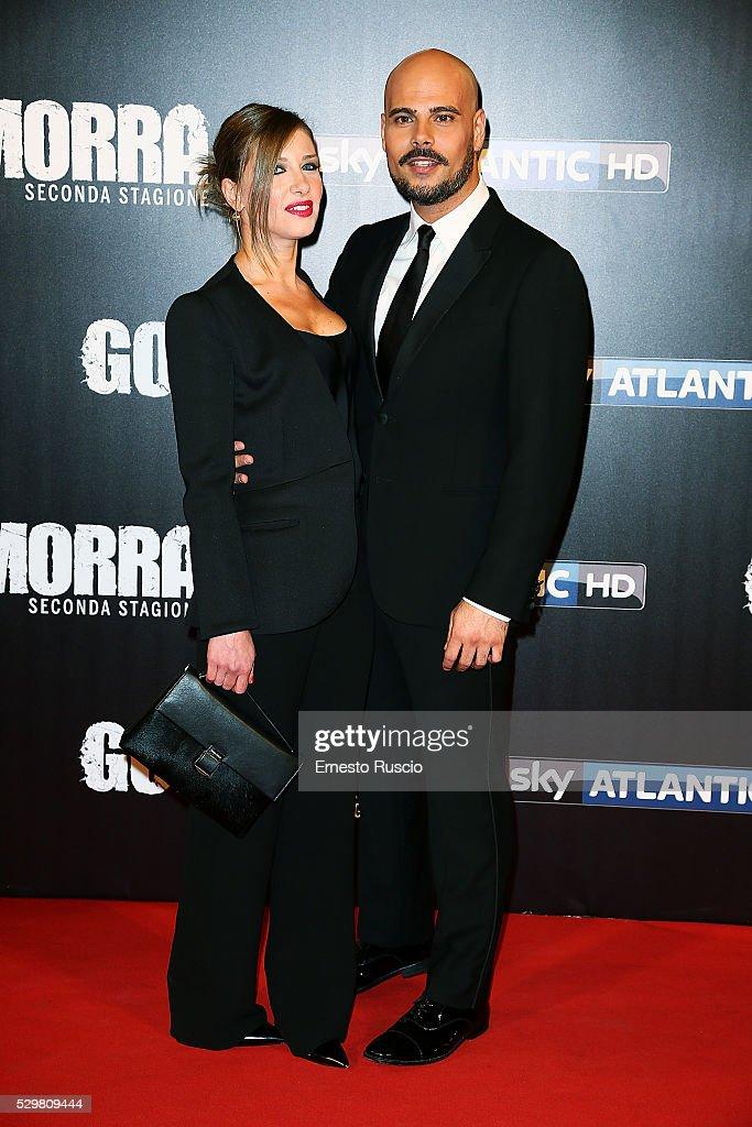 'Gomorra' Tv Show Photocall And Premiere In Rome : Foto di attualità