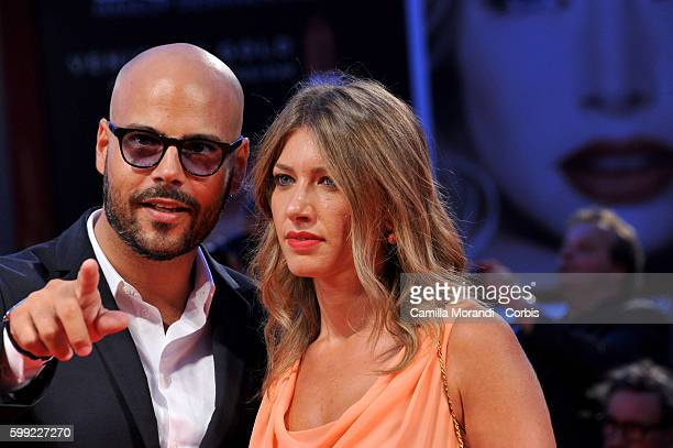 Marco D'Amore and Daniela Maiorana attend the Kineo Diamanti Award Ceremony during the 73rd Venice Film Festival at on September 4, 2016 in Venice,...