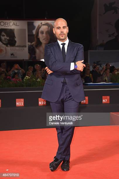 Marco D'Amore attends 'Perez' Premiere during the 71st Venice Film Festival at Sala Grande on September 5, 2014 in Venice, Italy.