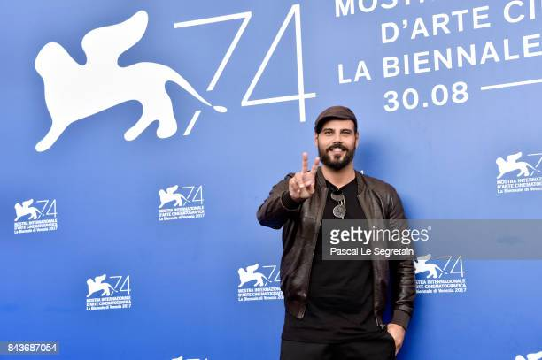 Marco D'Amore attends the 'Brutti E Cattivi' photocall during the 74th Venice Film Festival on September 7, 2017 in Venice, Italy.