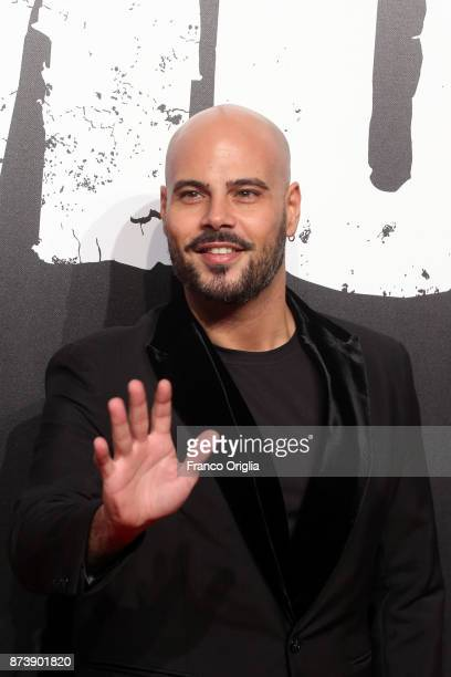 Marco D'Amore attends the 'Gomorra' premiere on November 13, 2017 in Rome, Italy.