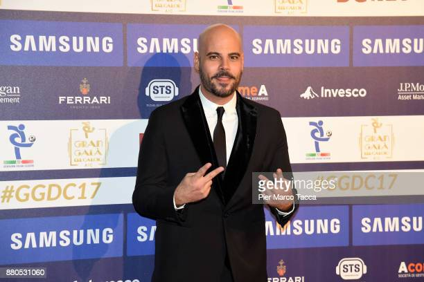 Marco D'Amore attends the Gran Gala Del Calcio 2017 on November 27, 2017 in Milan, Italy.